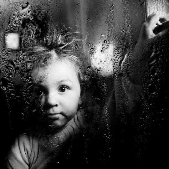 Семейные черно-белые фотографии Алена Лябуэля - №15