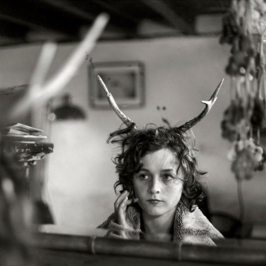 Семейные черно-белые фотографии Алена Лябуэля - №18