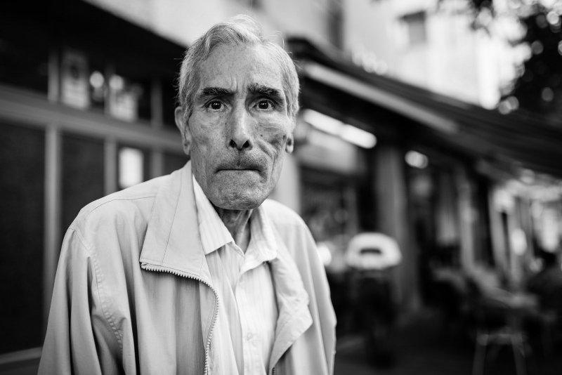 Черно-белая магия уличных портретов Джулио Магнифико - №1