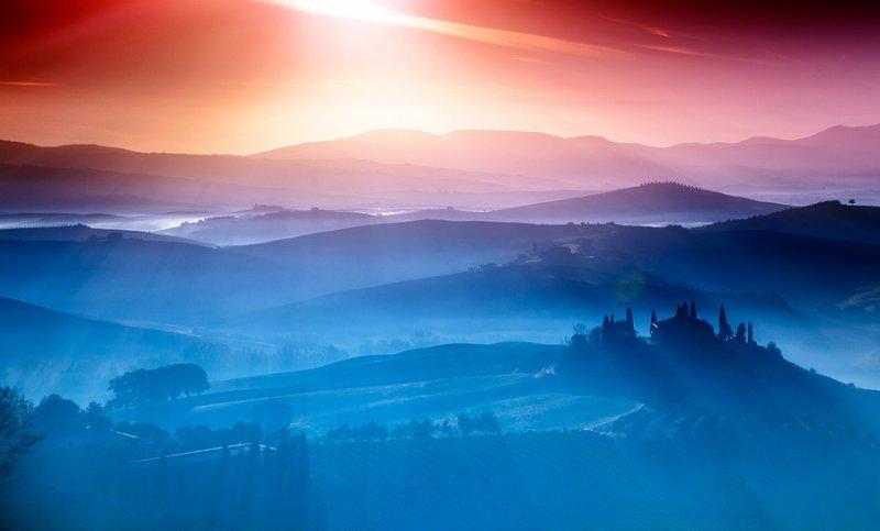 Страна грез в пейзажных фотографиях Аднана Бубало - №4
