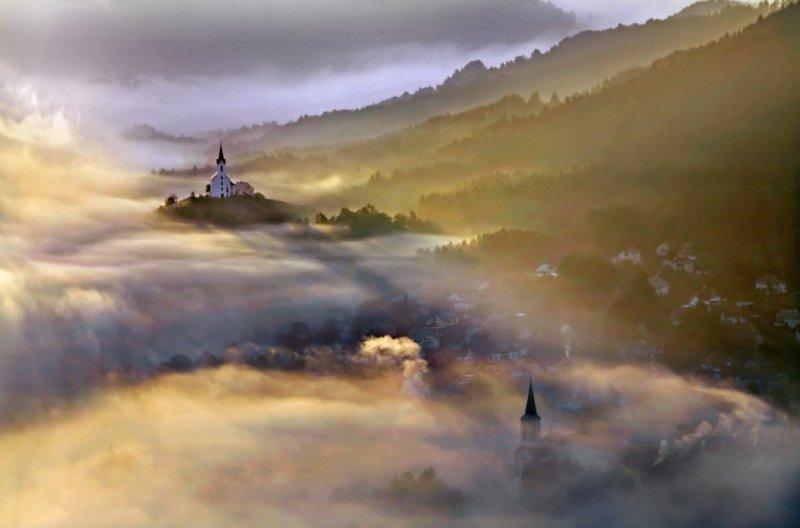 Сказочные фотопейзажи аэрофотографа Матяжа Катера - №18