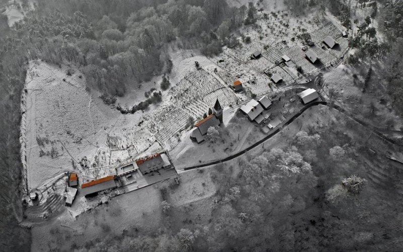 Сказочные фотопейзажи аэрофотографа Матяжа Катера - №11
