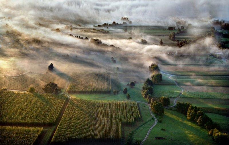 Сказочные фотопейзажи аэрофотографа Матяжа Катера - №29