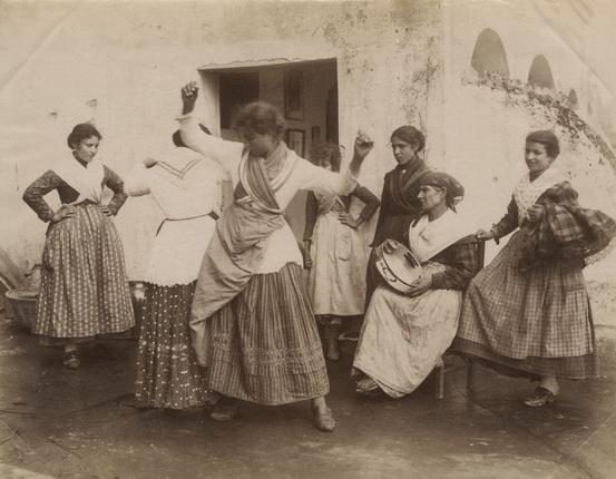 Роберто Риве. Неаполитанки. Неаполь. 1880-е