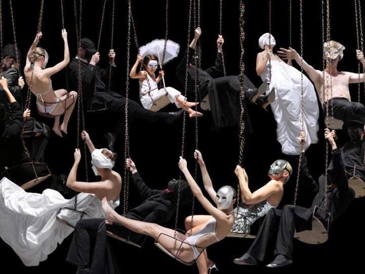 Движение человеческих тел в фотографиях Claudia Rogge - №10