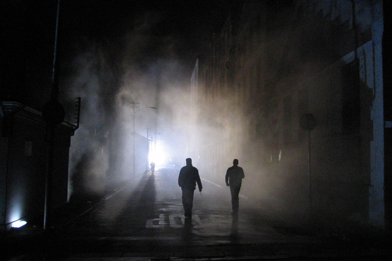 Мир теней и силуэтов фотографии Ти Джея Скотта - №24