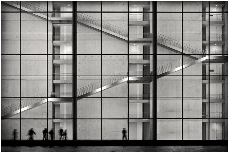 Черно-белое спокойствие симметрии Кая Зиля - №8