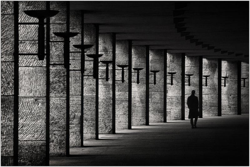 Черно-белое спокойствие симметрии Кая Зиля - №16