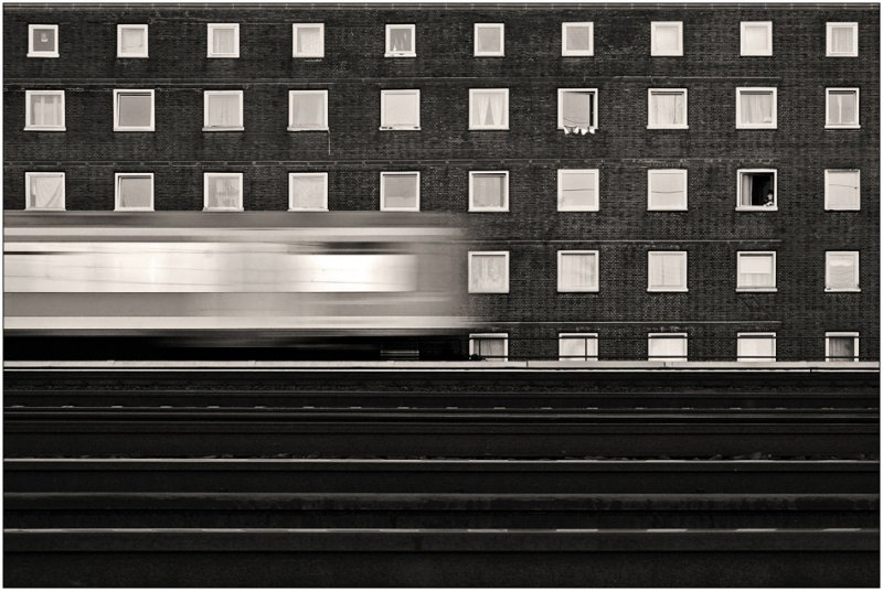 Черно-белое спокойствие симметрии Кая Зиля - №24