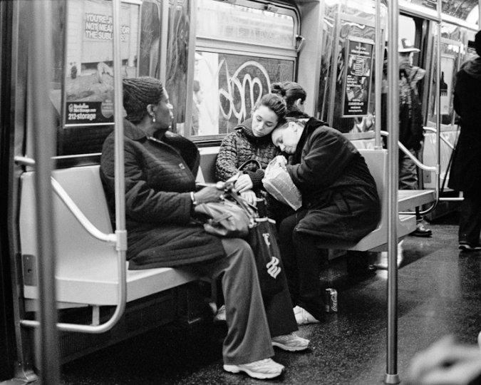 Черно-белый Нью-Йорк Дэйва Бекермана - №25