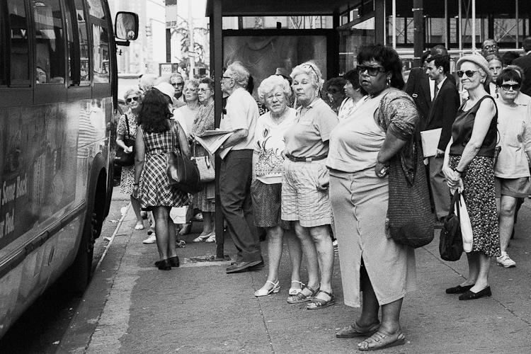 Черно-белый Нью-Йорк Дэйва Бекермана - №3