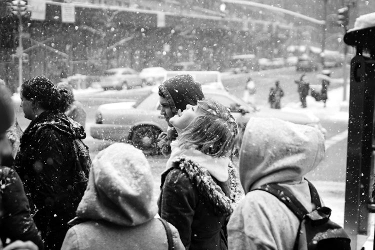 Черно-белый Нью-Йорк Дэйва Бекермана - №6