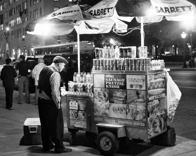 Черно-белый Нью-Йорк Дэйва Бекермана - №22