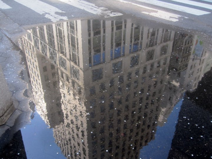 «Архитектурные лужи» Мадлен Диганги - №20