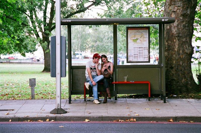 Автобусные остановки фотографа Richard Hooker - №4