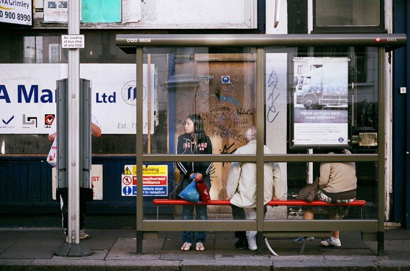 Автобусные остановки фотографа Richard Hooker - №12
