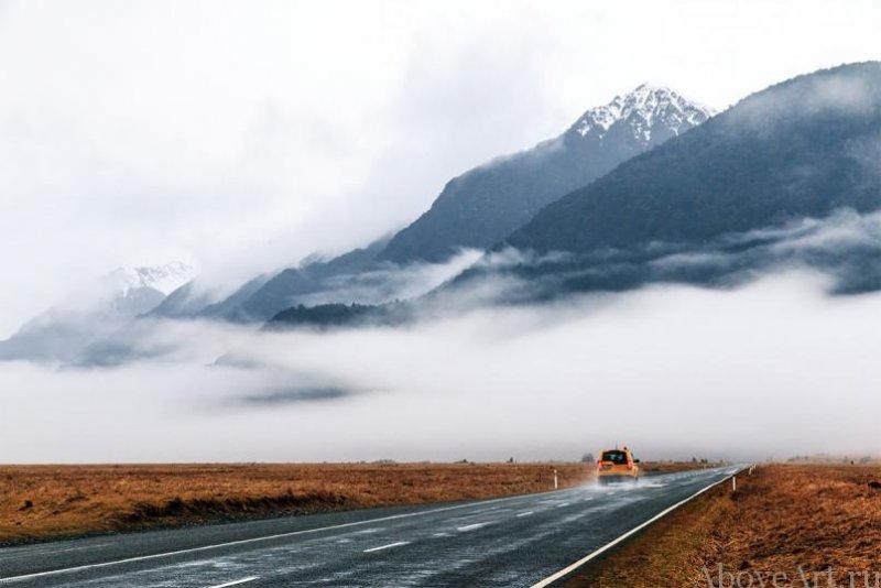 Albert Oriol «Дороги новой Зеландии» - №4