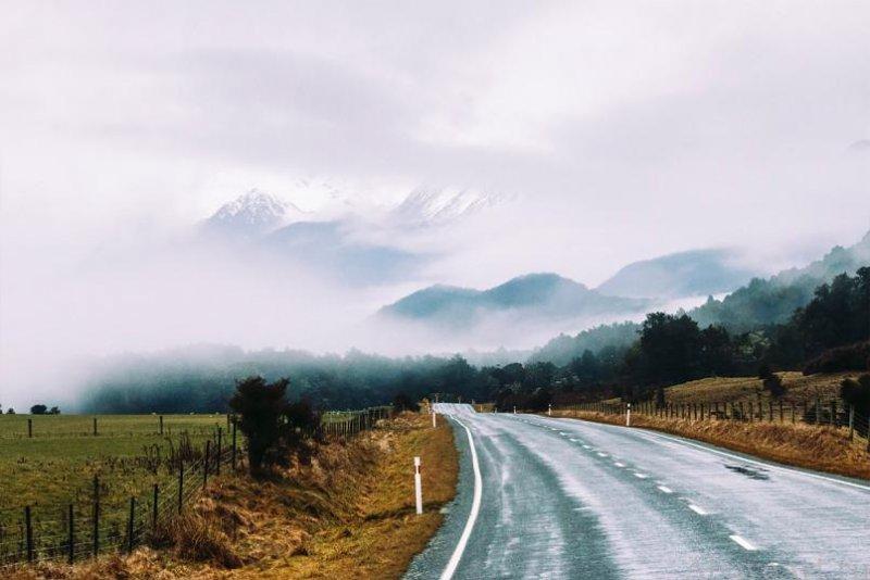 Albert Oriol «Дороги новой Зеландии» - №8