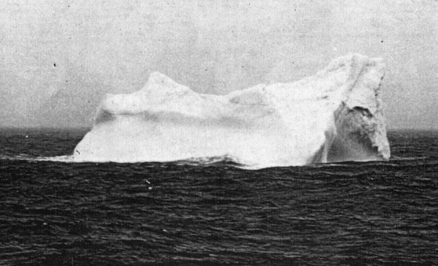 Айсберг потопивший Титаник