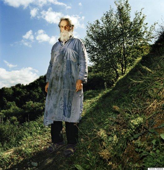 Невидимый мир Афона в фотографиях Стратоса Калафатиса - №4