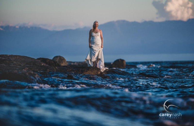 Необычные свадебные фотографии от Кэри Нэша - №5