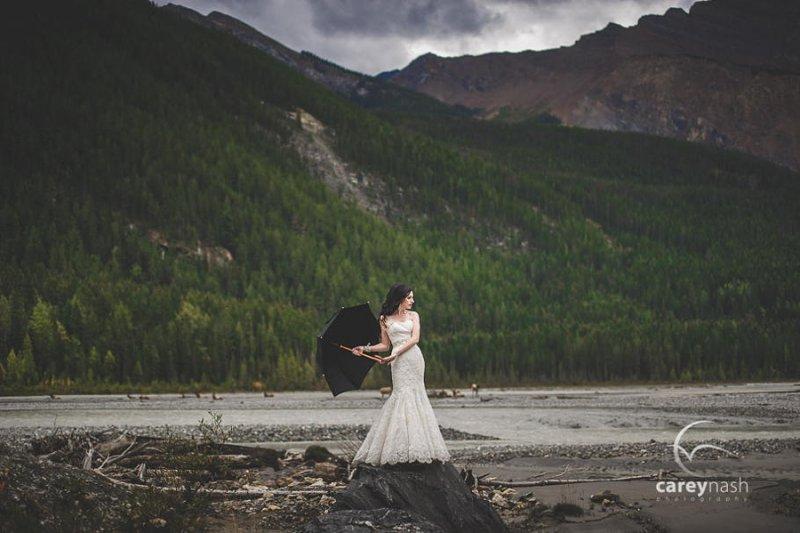 Необычные свадебные фотографии от Кэри Нэша - №13