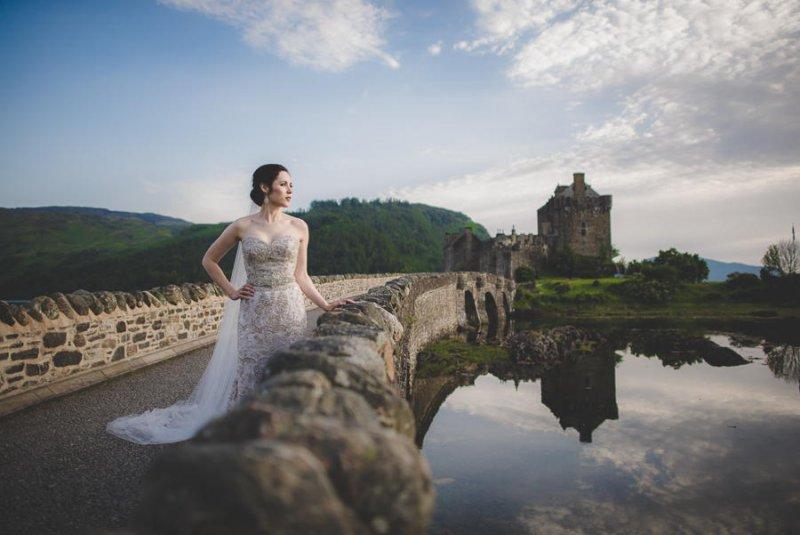 Необычные свадебные фотографии от Кэри Нэша - №17