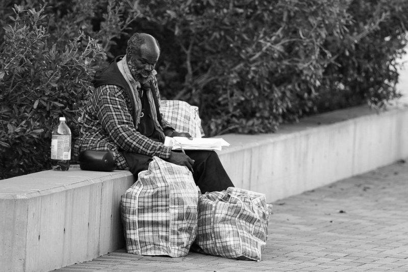 Автор фото: Альберт Чен. «Бездомный»