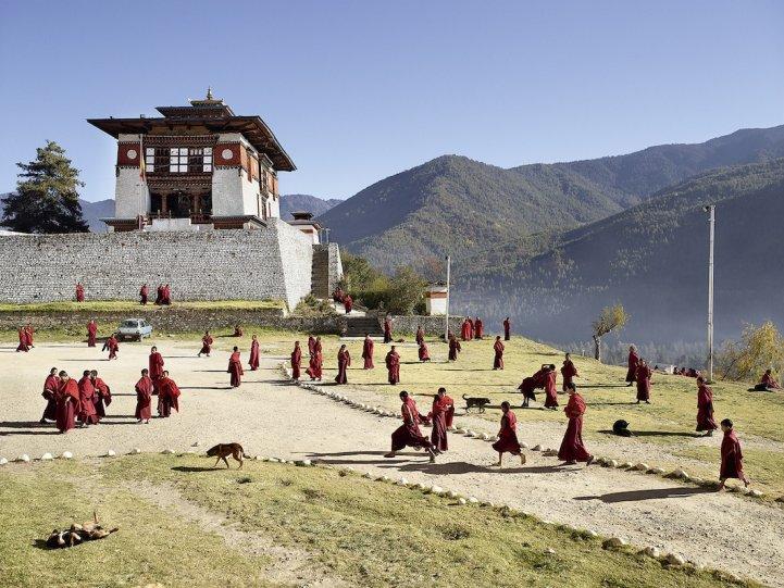 Буддийский монастырь Дечен-Пходранг, Тхимпху, Бутан