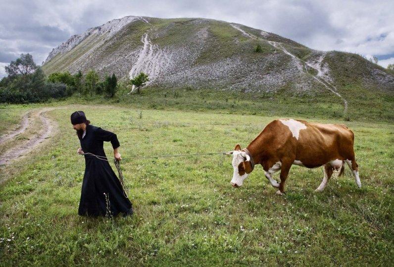 «Монашеская повседневная жизнь». Автор фото: Сергей Смирнов