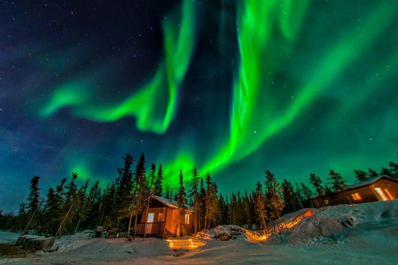 Фэрбенкс — город в центре Аляски