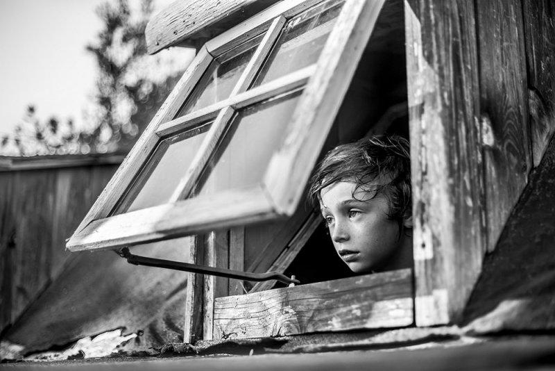 «За окном». Ориано Николау, Испания.