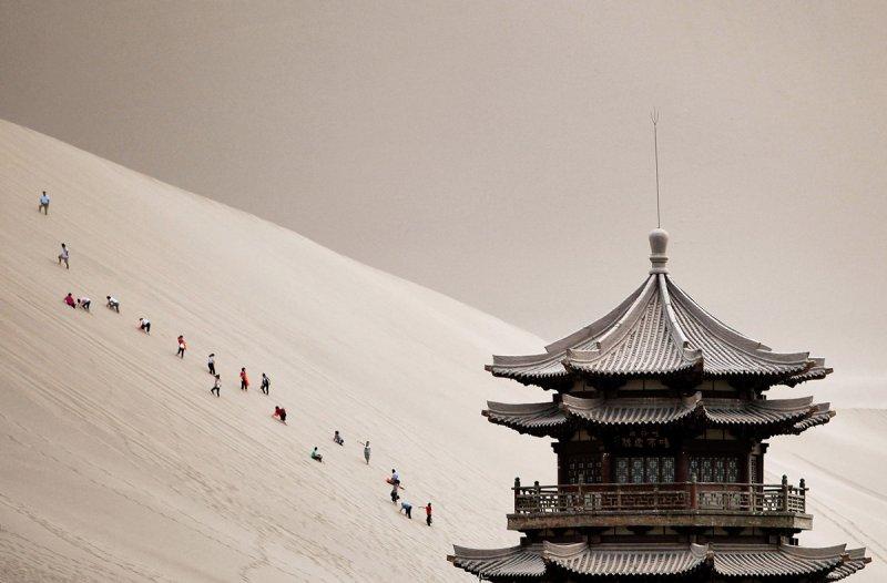 Красивые пейзажи китайской провинции Ганьсу - №2