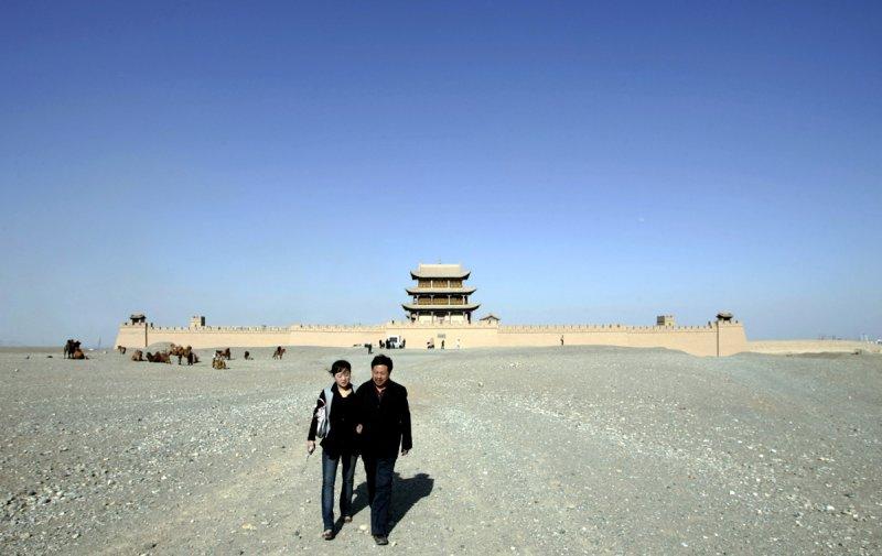 Красивые пейзажи китайской провинции Ганьсу - №18
