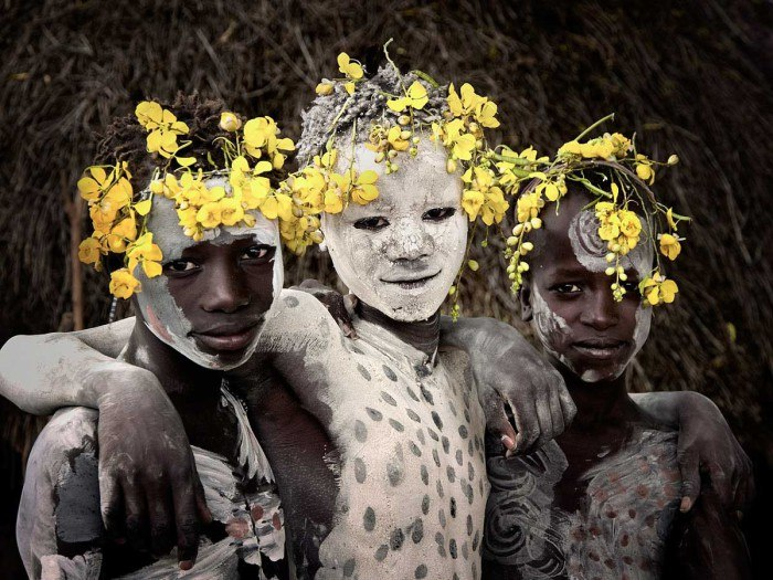 Юноши племени Кара