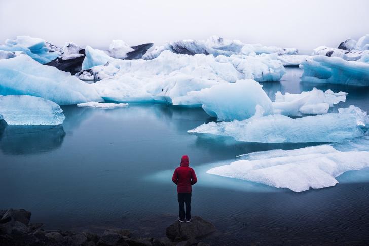 Ледниковая лагуна Йёкюльсаурлоун, Исландия