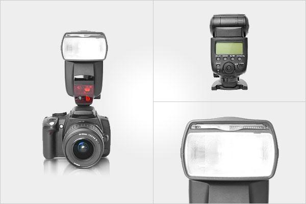 Виды вспышек для фотоаппаратов - №2