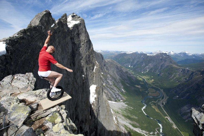 Роскошные пейзажи Норвегии - №6
