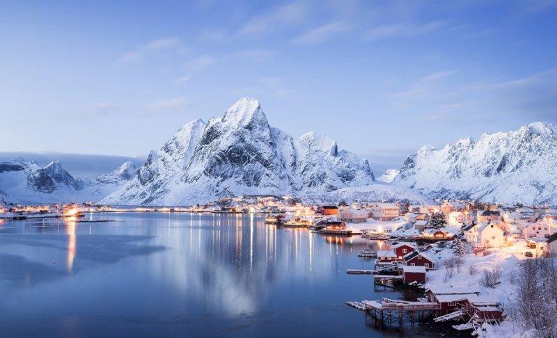 Роскошные пейзажи Норвегии - №10