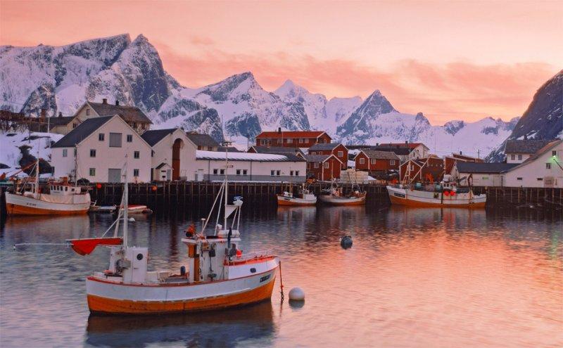 Роскошные пейзажи Норвегии - №19