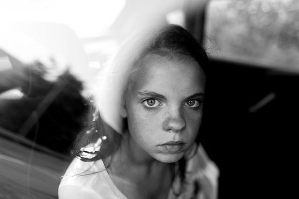 Потрясающие чёрно-белые портреты - №1