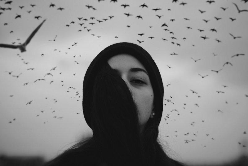 Потрясающие чёрно-белые портреты - №9