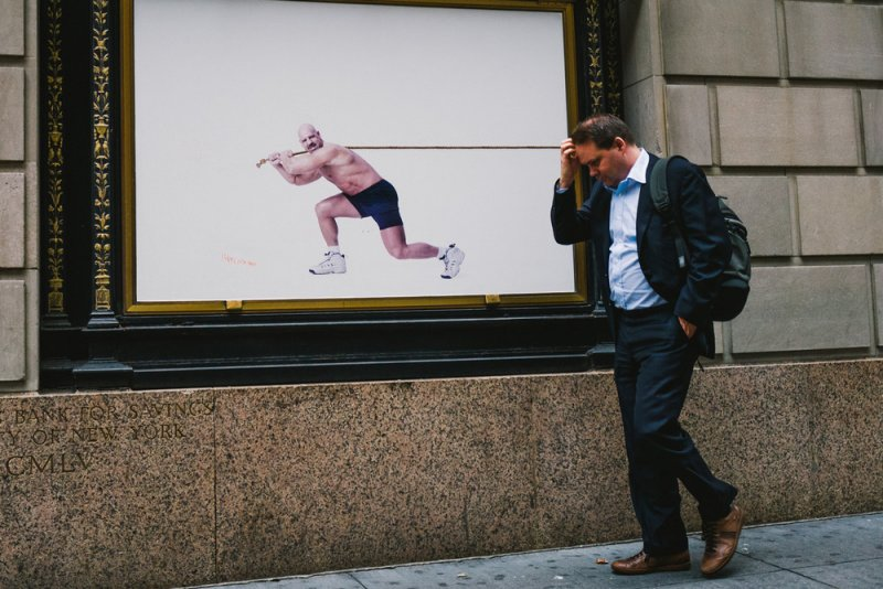 «Совпадения» – уличный фотопроект Джонатана Хигби - №1