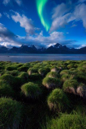 Полярное сияние над Норвегией - №15
