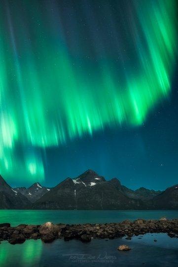 Полярное сияние над Норвегией - №12