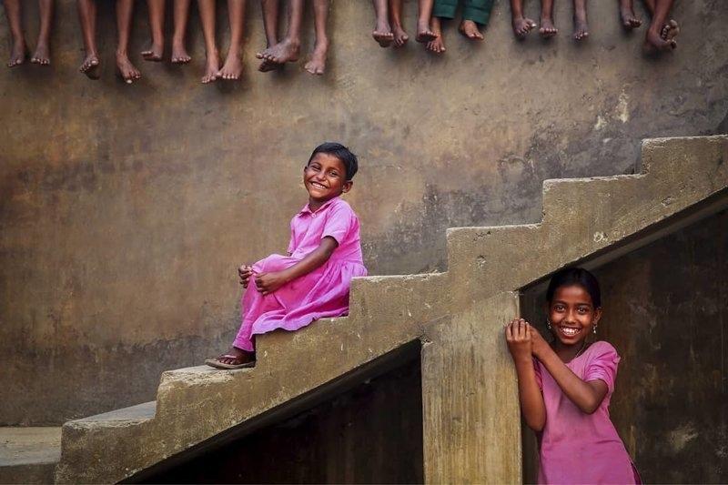 Детские портреты от фотографа Моу Айши - №1
