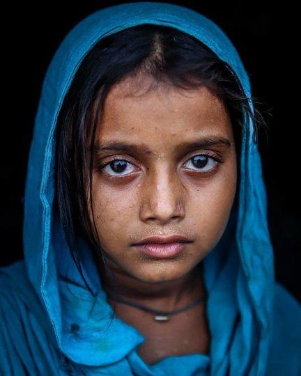 Детские портреты от фотографа Моу Айши - №10