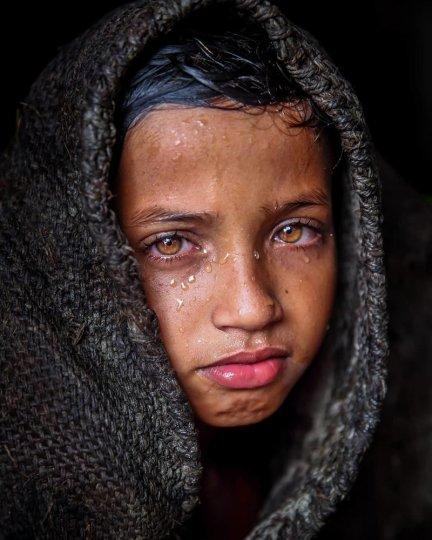 Детские портреты от фотографа Моу Айши - №12