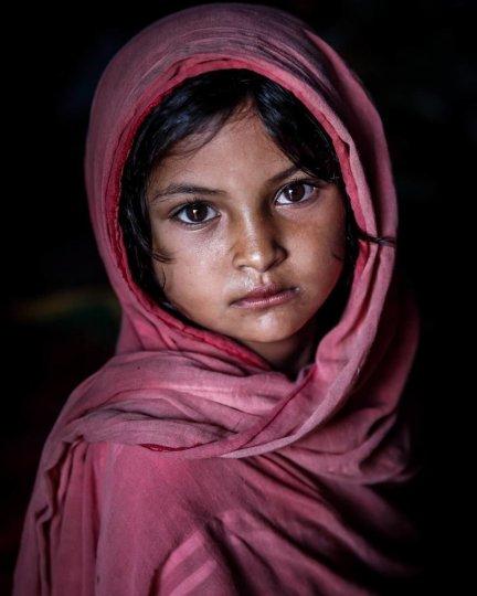 Детские портреты от фотографа Моу Айши - №15