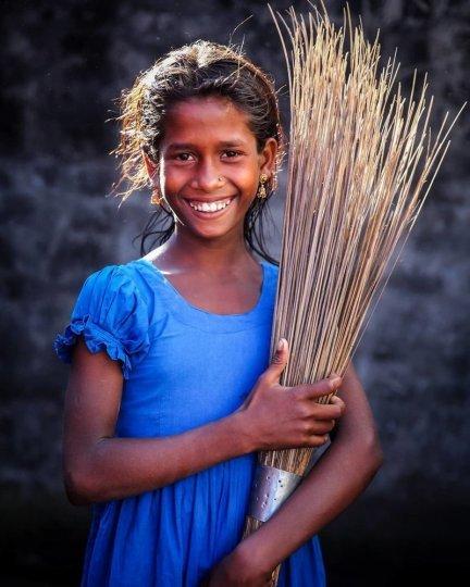 Детские портреты от фотографа Моу Айши - №13